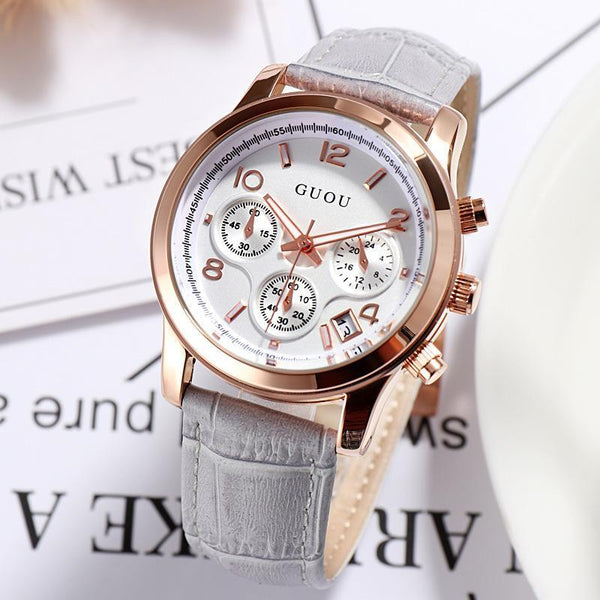 Trendinggate.com GUOUHong Kong Guo Ms watches classic retro leisure quartz watches women's watches support a surrogate hai