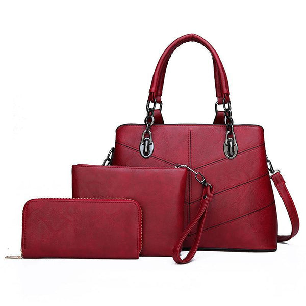 Trendinggate.com handbag 2019New fashion stitches for women's bags, sewing, shoulder, slant, shoulder, shoulder.