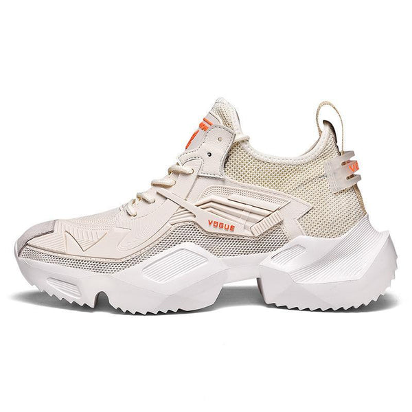 Trendinggate.com SC-19009cream-coloured / 39 Hip-hop Robot Shoes Insnet Red Summer Air-permeable Sports Shoes Fashion Week Harajuku Tremble Shoes Daddy Shoes