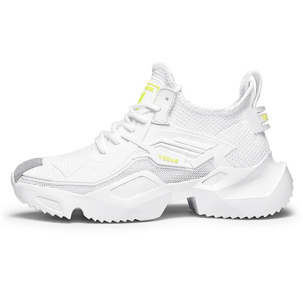 Trendinggate.com SC-19009White / 39 Hip-hop Robot Shoes Insnet Red Summer Air-permeable Sports Shoes Fashion Week Harajuku Tremble Shoes Daddy Shoes