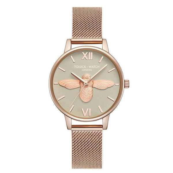 Trendinggate.com green【Spot】 Honeybee ob Lightweight and Luxury French Minority Watch Ladies Tremble Nethong Simple Watch Students of the Same Fashion Trend