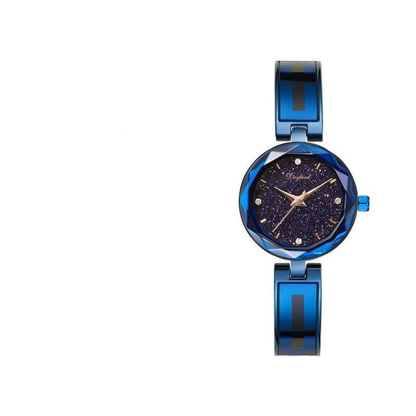 Trendinggate.com Blue Shell with Blue Star Hot hot burst women's watch star when to run the watch women's net red shake sound the same source factory spot