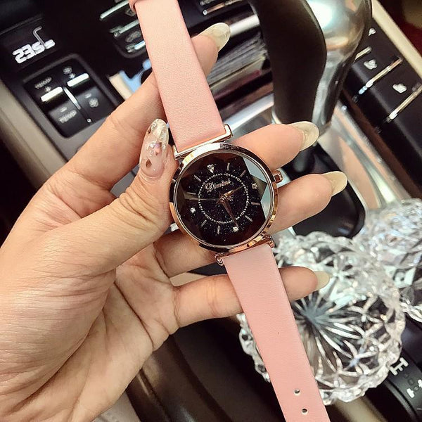 Trendinggate.com pink belt Huizhou merchants exploded Timini Watches, Water Diamonds, Ladies Watches, Fashion Belts, Korean Version Watches