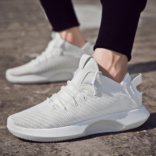 Trendinggate.com insAutumn new men's sports casual shoes small white shoes mesh fashion sneakers fashion shoes men's factory outlet