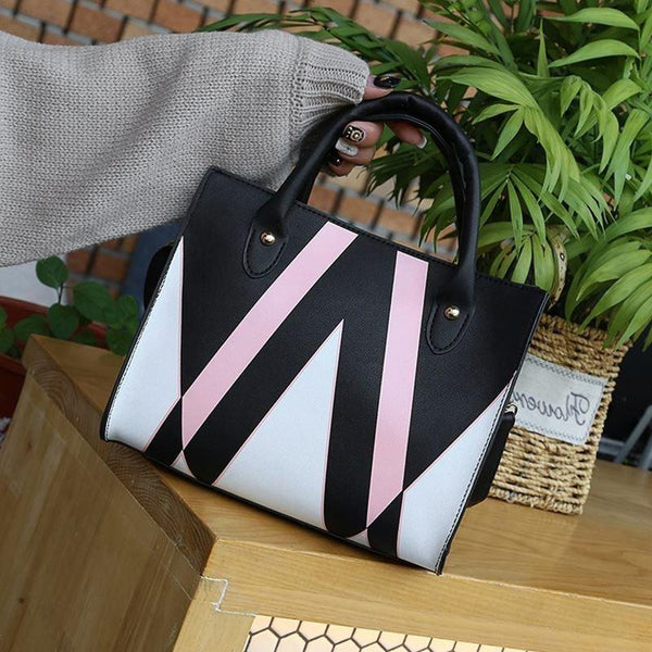 Trendinggate.com insBag woman 2019 summer new Korean style splicing 100 shoulder slanted small square bag cross-border special