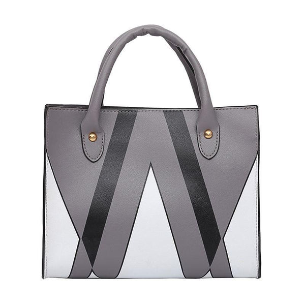 Trendinggate.com Dark grey insBag woman 2019 summer new Korean style splicing 100 shoulder slanted small square bag cross-border special