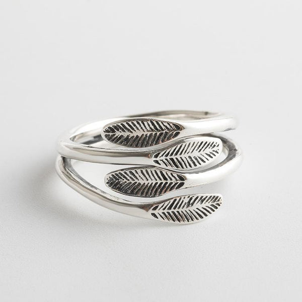 Trendinggate.com Japanese and Korean S925 Silver Ring (s925Sterling Silver Opening adjustable)