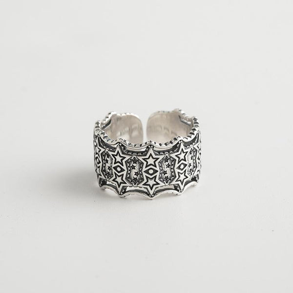 Trendinggate.com Japanese and Korean S925 Silver Ring (s925Sterling Silver Openings adjustable)