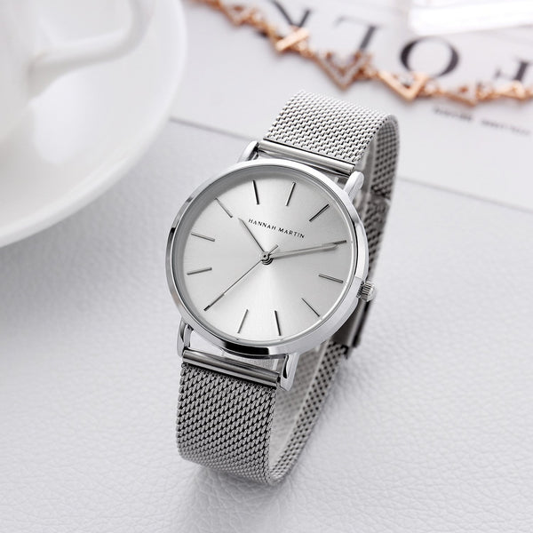 Trendinggate.com Japanese movement Amazon steel mesh with waterproof ladies watch women watches 2019 rose gold ladies watch