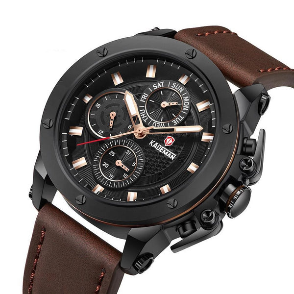 KADEMAN highly resistance to rusting watch