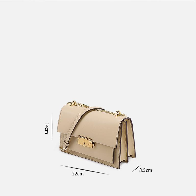 Trendinggate.com Leather bag women's 2019 new summer's all-in-one Leather Shoulder Messenger chain bag small square bag for sourcing