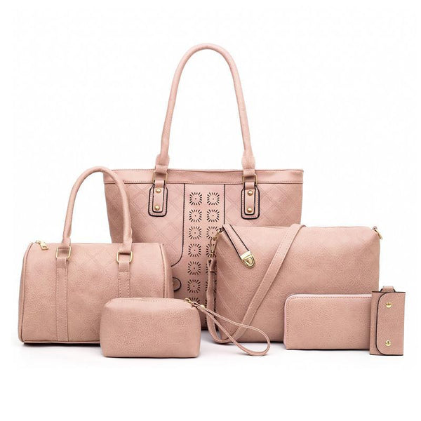 Trendinggate.com rose hermosa Manufacturers direct sales of the new single shoulder slanting multi-piece bag ladies set mother bag fashion retro-European and American explosions in 2019