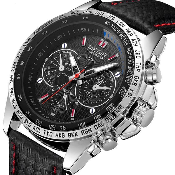 https://detail.1688.com/offer/530981002318.html MEGIR A+ generation luminous three-eyed sports men's watch
