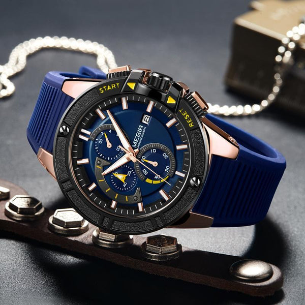 Trendinggate.com Men's Watches MEGIR classic design brings style and prestige to any outfit