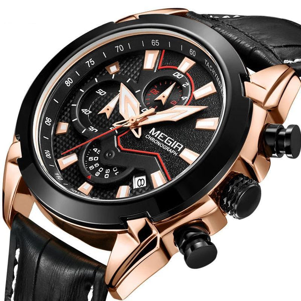 Trendinggate.com Men's Watches MEGIR Luminous Automatic elegant watch