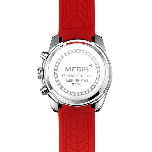 MEGIR trendy blue band gives the piece a sporty style