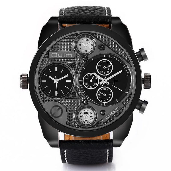 Trendinggate.com Men's watch wholesale/oulmHot money for foreign trade/Sports and leisure trend table 9316 black shell
