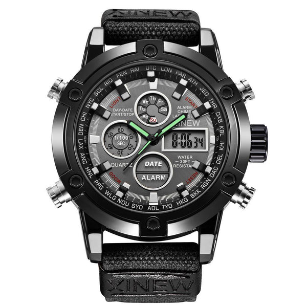 https://detail.1688.com/offer/597583968790.html Men's Watches black Mens Chronograph Business Watch