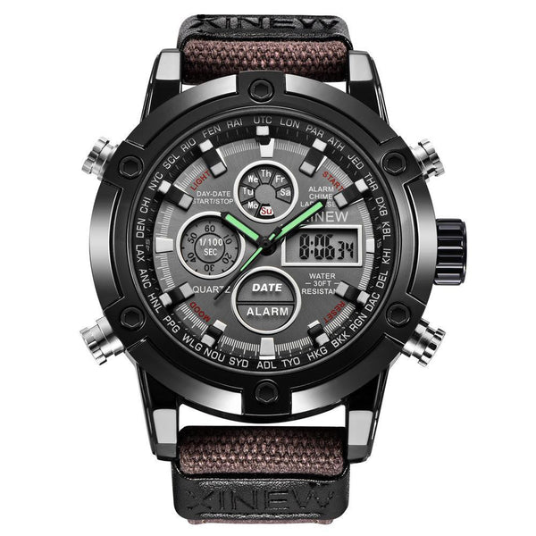 https://detail.1688.com/offer/597583968790.html Men's Watches coffee Mens Chronograph Business Watch