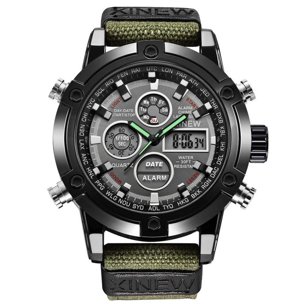 https://detail.1688.com/offer/597583968790.html Men's Watches green Mens Chronograph Business Watch