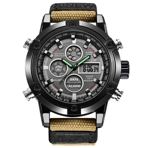 https://detail.1688.com/offer/597583968790.html Men's Watches khaki Mens Chronograph Business Watch