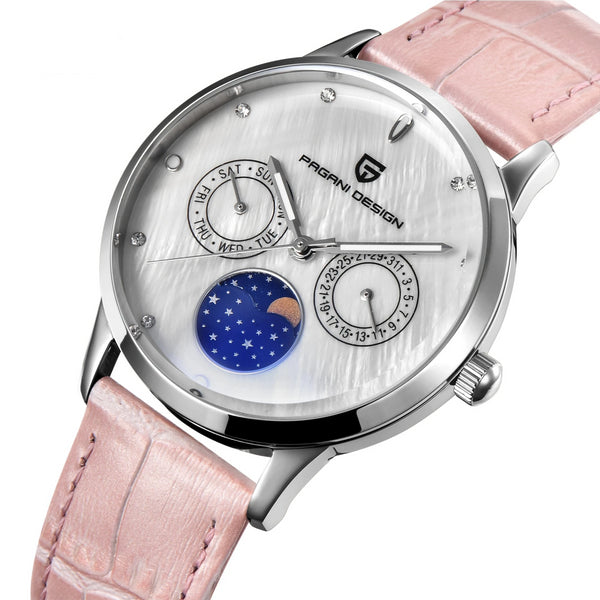 Trendinggate.com Ms. Bergani Watch Gift Fashion Calendar Watch Fashion Function Leisure Watch Woman Watches 2723