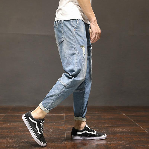 Trendinggate.com Men's clothing New loose men's jeans