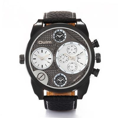 Trendinggate.com White OULM Sports and leisure trendy watch