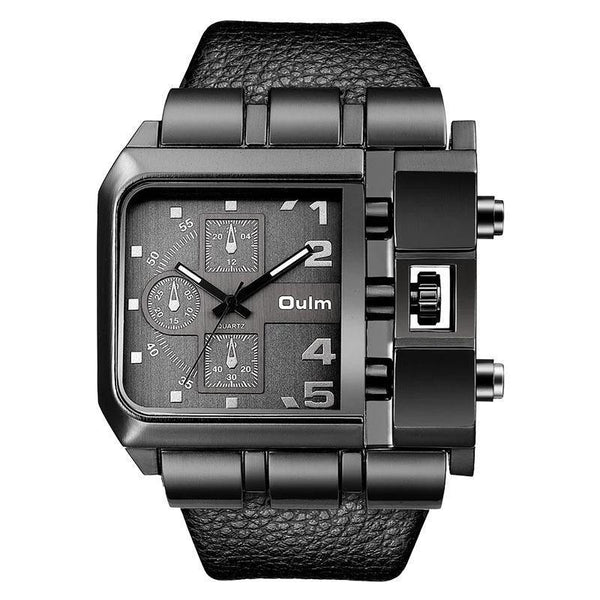 Trendinggate.com OulmCross border 2019 quartz watch men's watch leisure belt watch men's watch 3364