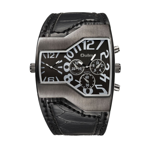 Trendinggate.com black oulmEurope radium watch manufacturer watches wholesale personalized men's watches two times trend men's watches 1220 pop