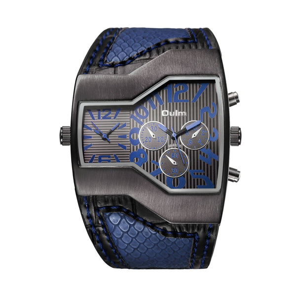 Trendinggate.com Blue oulmEurope radium watch manufacturer watches wholesale personalized men's watches two times trend men's watches 1220 pop