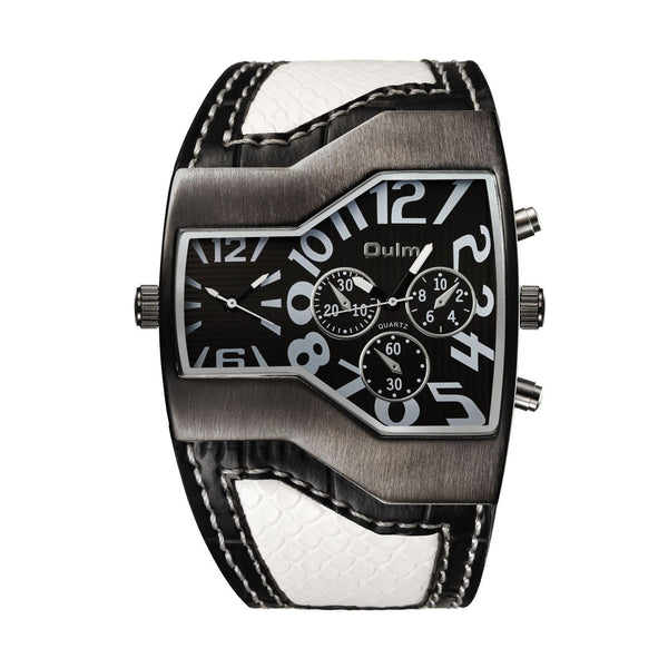 Trendinggate.com Leucorrhea with black face oulmEurope radium watch manufacturer watches wholesale personalized men's watches two times trend men's watches 1220 pop