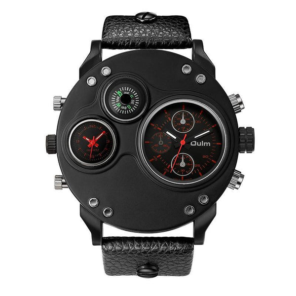 Trendinggate.com Red oulmQuartz compass men's watches explosions brand foreign trade watches HP3741 sports watches