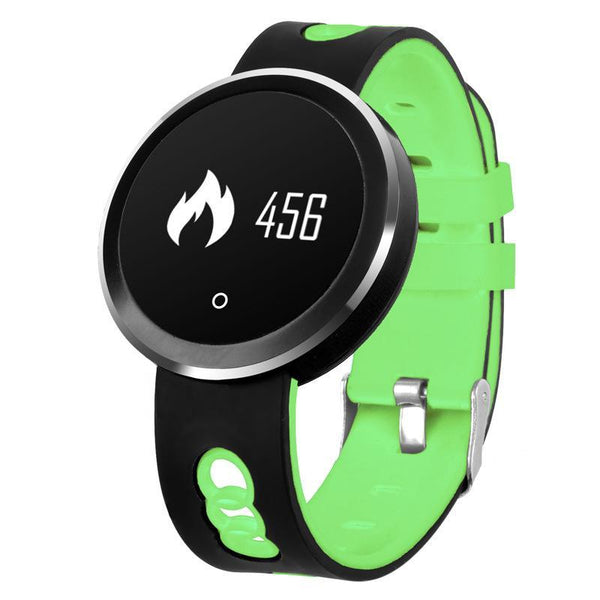 Trendinggate.com Wearable Technology green Q7 exercise Smart waterproof bracelet