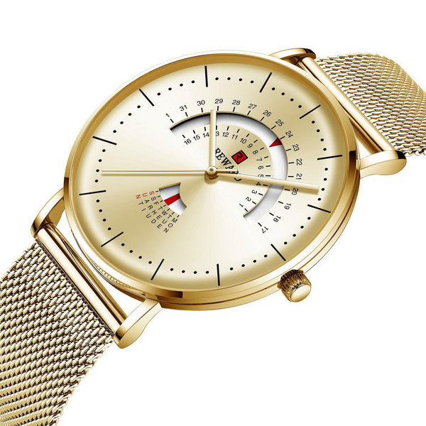Trendinggate.com Men's Watches REWARD precise movement thin watch elegant and classy for any occasion