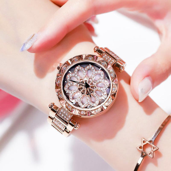 Trendinggate.com Shake the same 2019 new fashion trend to run watches female students waterproof ladies watches ins wind
