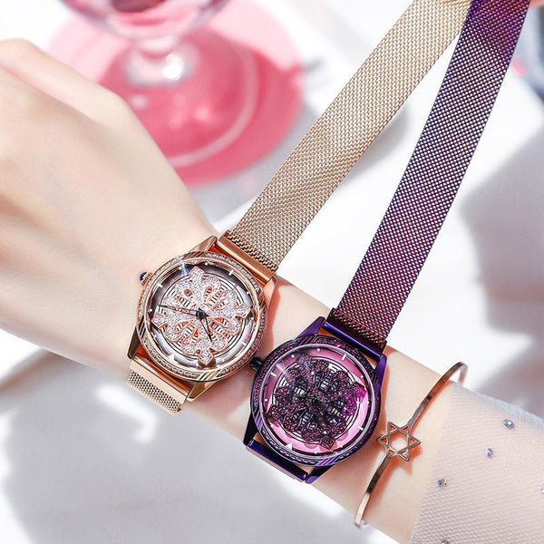 Trendinggate.com Shake the same model to run the watch female ins net only character girl Korean version of the simple temperament waterproof watch