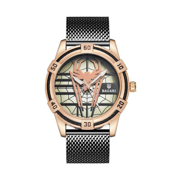 Trendinggate.com Meijin shell Black Belt shopeeHair on behalf of wish hair on behalf of 2019 new men's Japan imported movement boutique watch spider