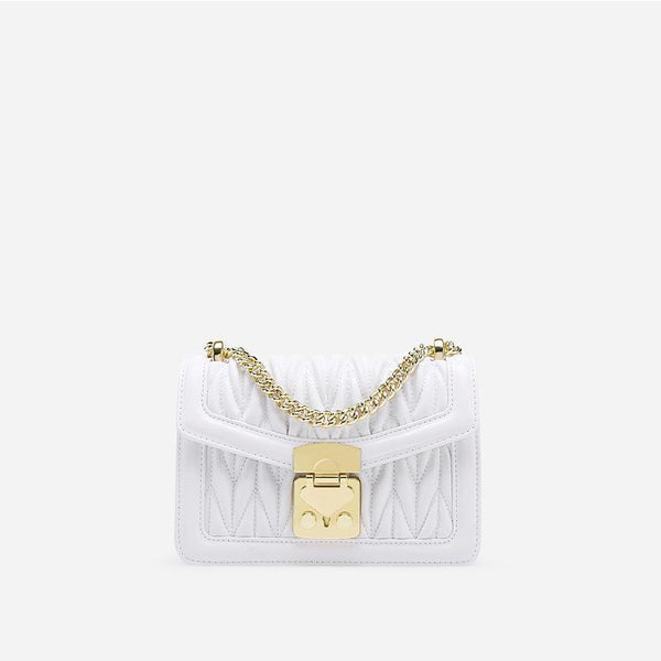 Trendinggate.com White Small design bag embroidered chain small square bag 2019 summer new small breeze shoulder slung handbag