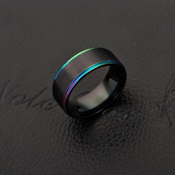 Trendinggate.com Stainless steel men's rings for cross-border explosive accessories