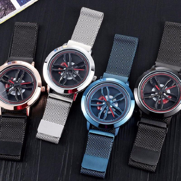 Trendinggate.com Time-running Watch Male Blue Star Sky 10 Trendy New Concept Shake-tone Nethong Student Waterproof Male Watch