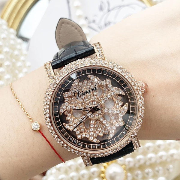 Trendinggate.com black Timmy's Fashion Turn Watches Shake Tones Hot Selling AliExpress Watches women watches