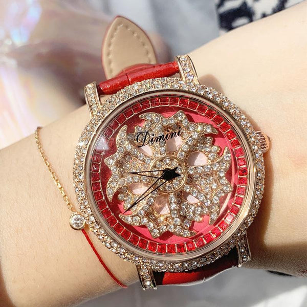 Trendinggate.com Red Timmy's Fashion Turn Watches Shake Tones Hot Selling AliExpress Watches women watches