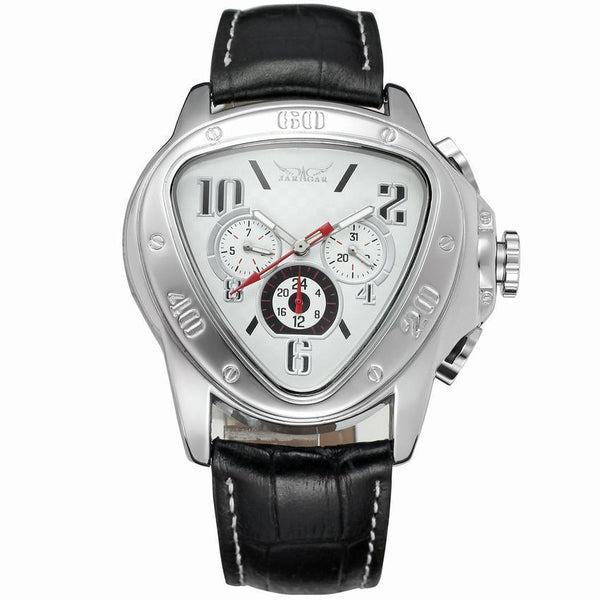 https://detail.1688.com/offer/585554632383.html white Trending Cross-border hot JARAGAR triangle dial 6-pin calendar fashion men's automatic mechanical watch men's watch