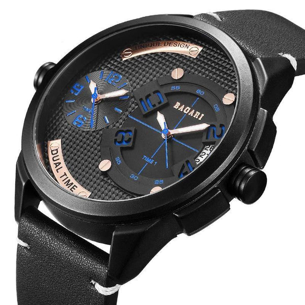 Trendinggate.com Watch manufacturer direct sale fashion watch 2019wristwatch men dual movement multi-function waterproof watch