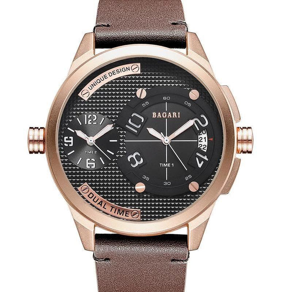 Trendinggate.com Meijin shell coffee belt Watch manufacturer direct sale fashion watch 2019wristwatch men dual movement multi-function waterproof watch