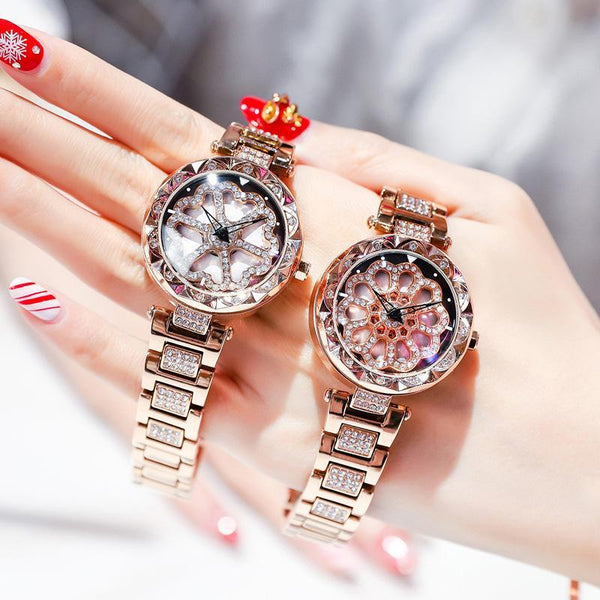 Trendinggate.com When the popular style YJ6 comes to run the watch women Douyin, the same network celebrity quartz steel belt women's watch foreign trade source