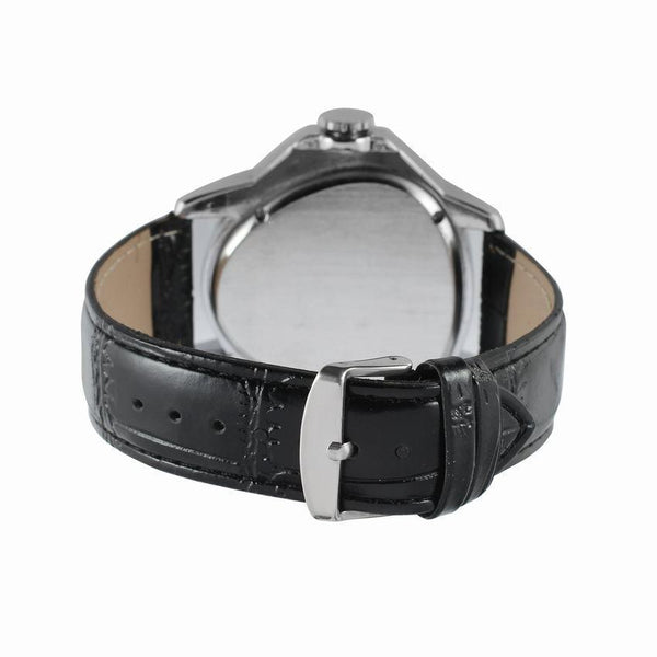 Trendinggate.com Men's Watches WINNER simple leather band looks right in any setting