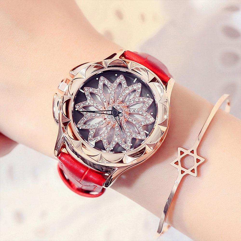 Trendinggate.com First generation red band (naked watch) Woman's watch new fashion trend Leather Quartz Watch 2019