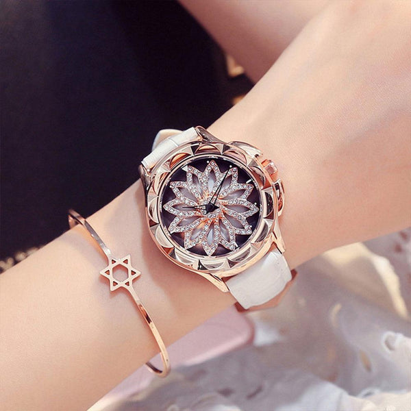 Trendinggate.com First generation white strap (bare watch) Woman's watch new fashion trend Leather Quartz Watch 2019
